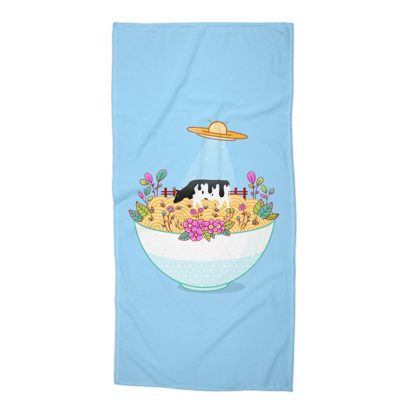 Kidnapped During Ramen Trip Accessories Beach Towel by godzillarge's Artist Shop