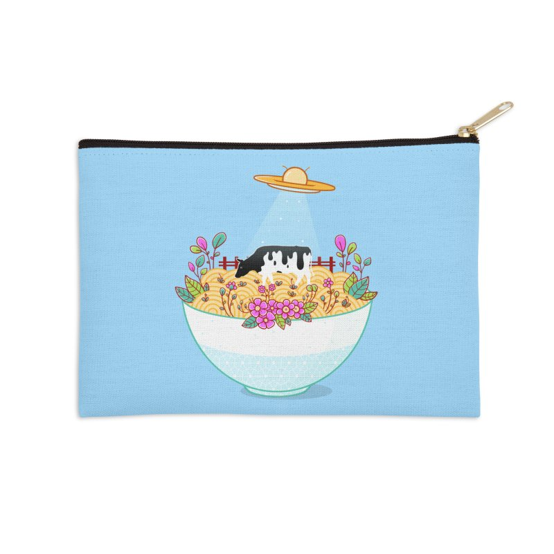 Kidnapped During Ramen Trip Accessories Zip Pouch by godzillarge's Artist Shop