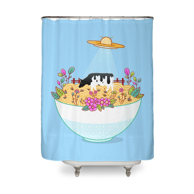 Kidnapped During Ramen Trip Home Shower Curtain by godzillarge's Artist Shop