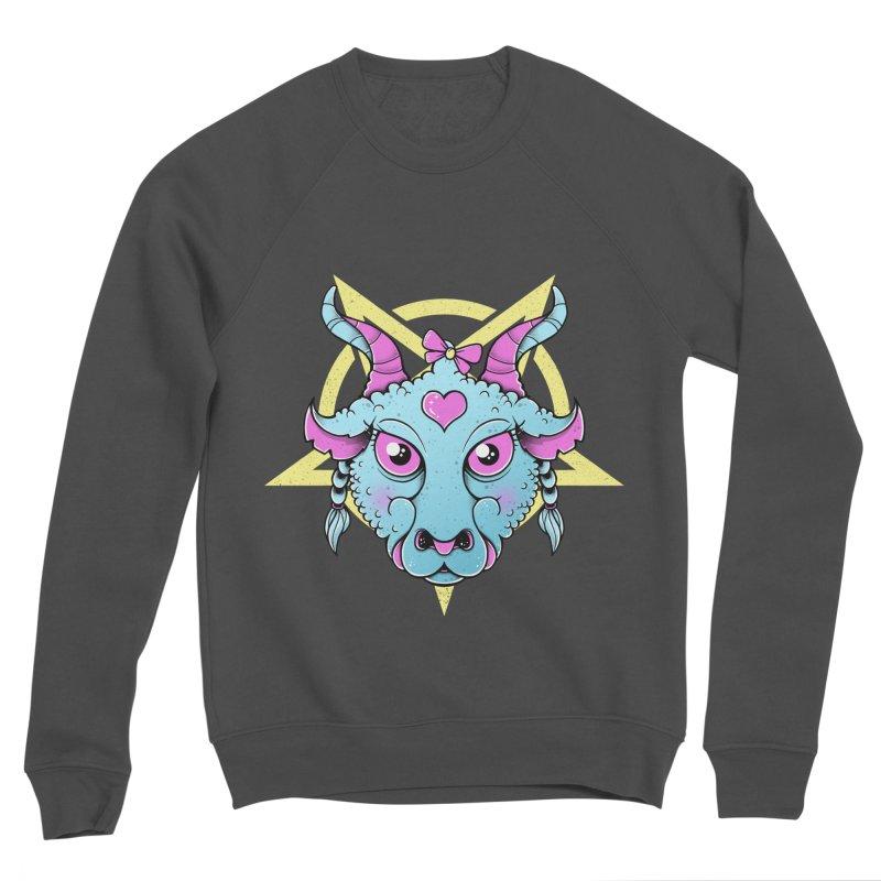 Cute Satanic Women's Sponge Fleece Sweatshirt by godzillarge's Artist Shop