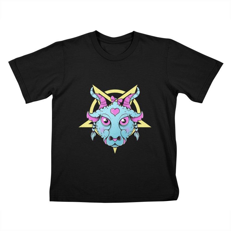 Cute Satanic Kids T-Shirt by godzillarge's Artist Shop