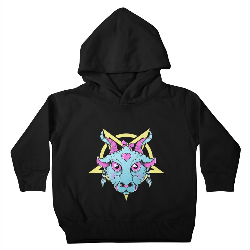 Cute Satanic Kids Toddler Pullover Hoody by godzillarge's Artist Shop