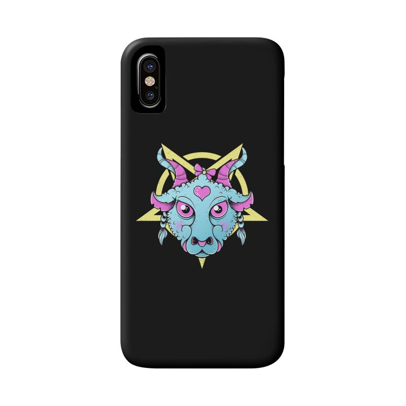 Cute Satanic Accessories Phone Case by godzillarge's Artist Shop