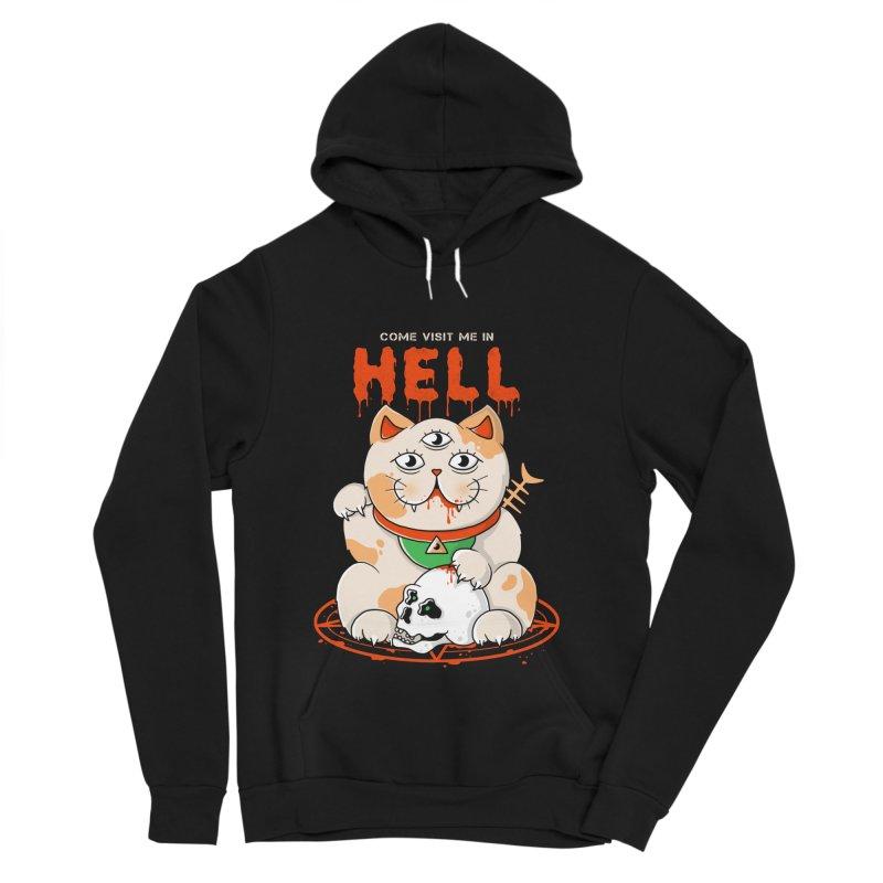 Come Visit Me In Hell Women's Sponge Fleece Pullover Hoody by godzillarge's Artist Shop