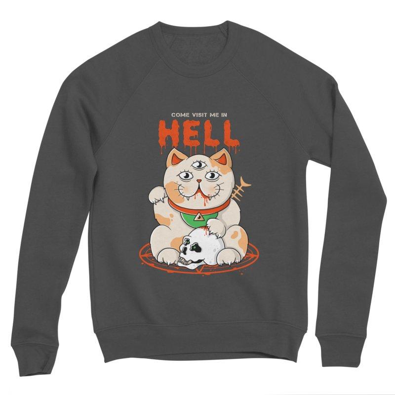 Come Visit Me In Hell Women's Sponge Fleece Sweatshirt by godzillarge's Artist Shop