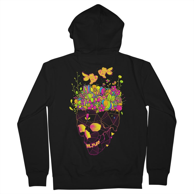 Get Lost With You II Men's French Terry Zip-Up Hoody by godzillarge's Artist Shop