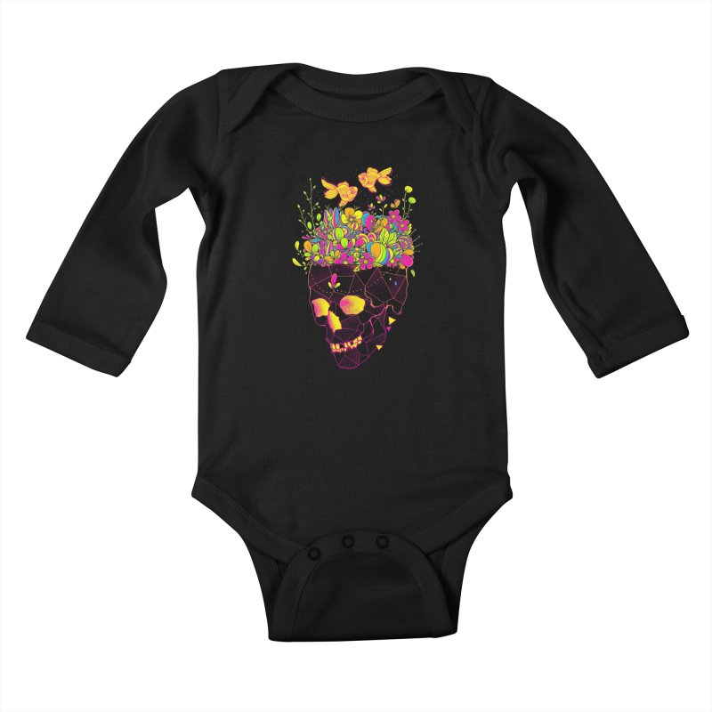 Get Lost With You II Kids Baby Longsleeve Bodysuit by godzillarge's Artist Shop