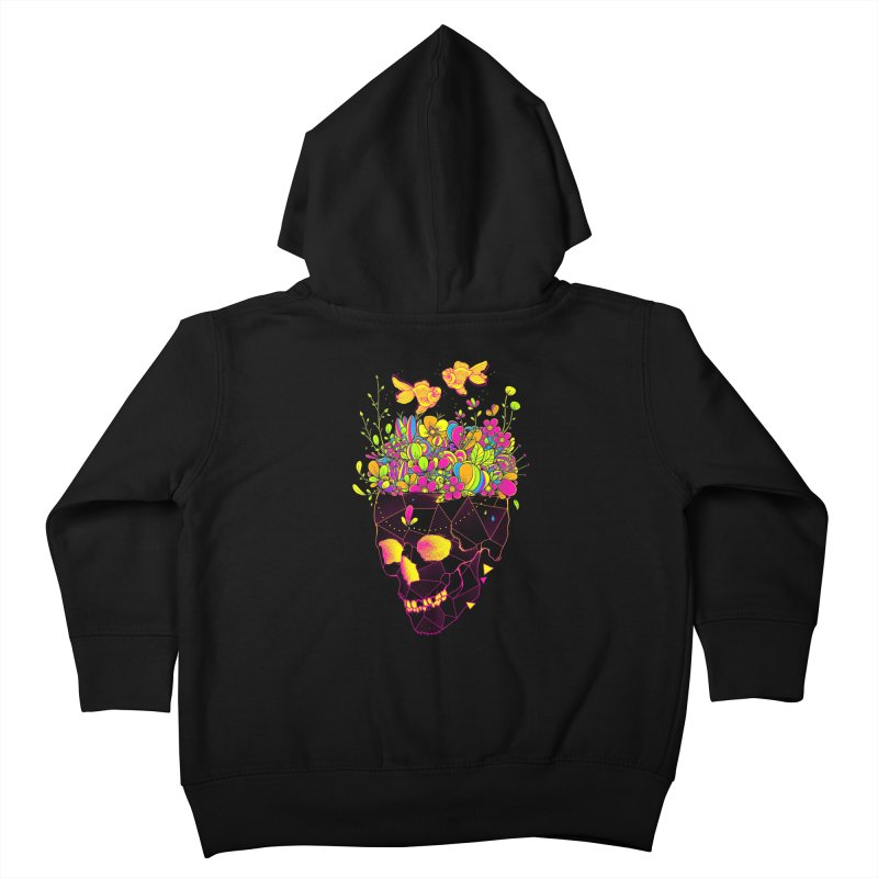 Get Lost With You II Kids Toddler Zip-Up Hoody by godzillarge's Artist Shop