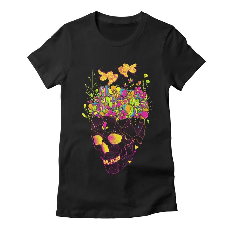 Get Lost With You II Women's Fitted T-Shirt by godzillarge's Artist Shop