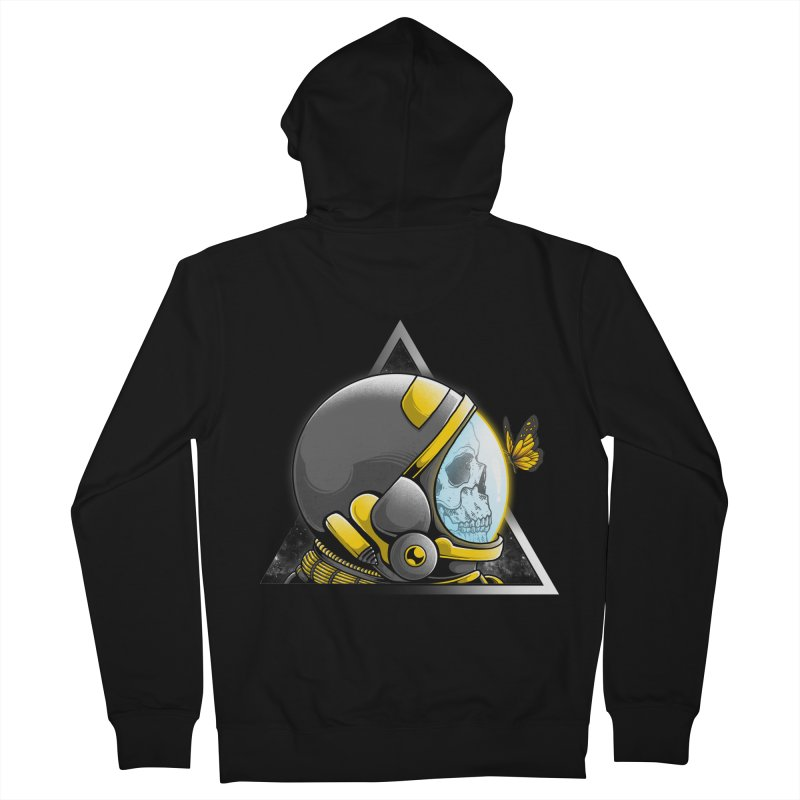 Hello Women's French Terry Zip-Up Hoody by godzillarge's Artist Shop