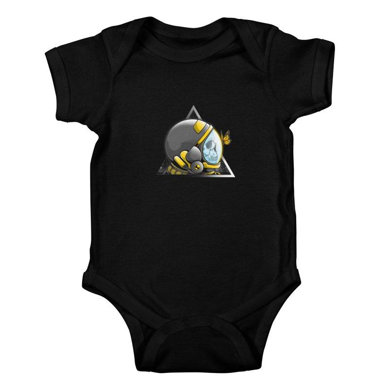 Hello Kids Baby Bodysuit by godzillarge's Artist Shop