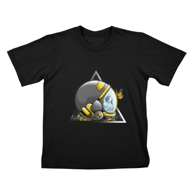 Hello Kids T-Shirt by godzillarge's Artist Shop
