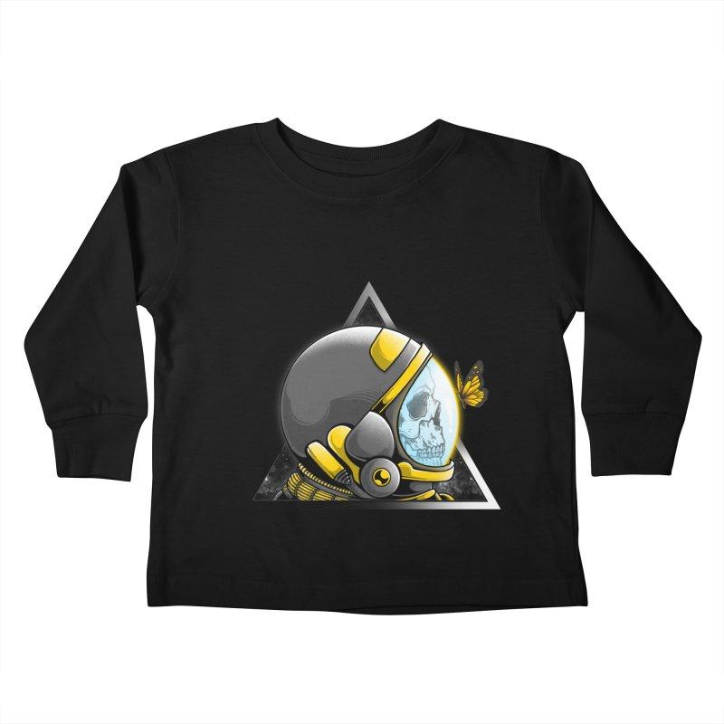 Hello Kids Toddler Longsleeve T-Shirt by godzillarge's Artist Shop