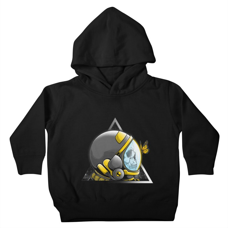 Hello Kids Toddler Pullover Hoody by godzillarge's Artist Shop