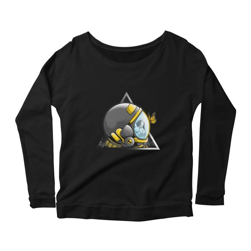 Hello Women's Scoop Neck Longsleeve T-Shirt by godzillarge's Artist Shop