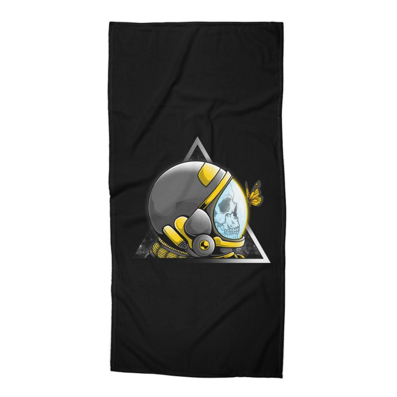 Hello Accessories Beach Towel by godzillarge's Artist Shop
