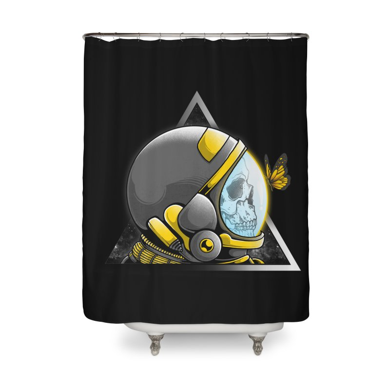 Hello Home Shower Curtain by godzillarge's Artist Shop