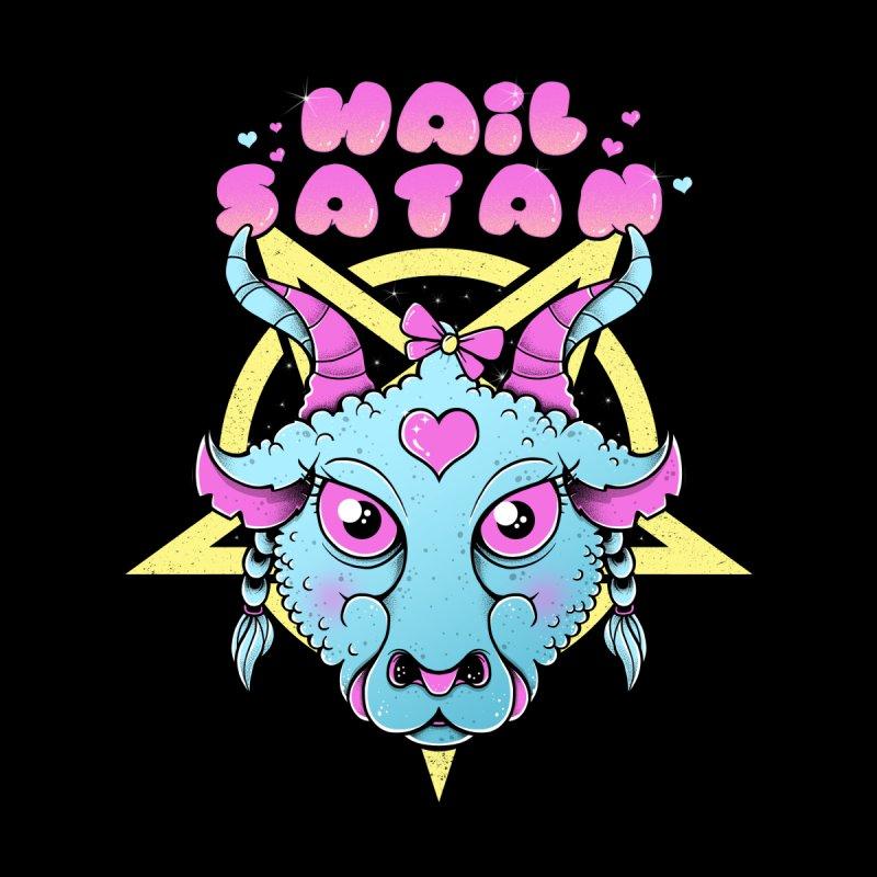 Hail Satan Women's Zip-Up Hoody by godzillarge's Artist Shop