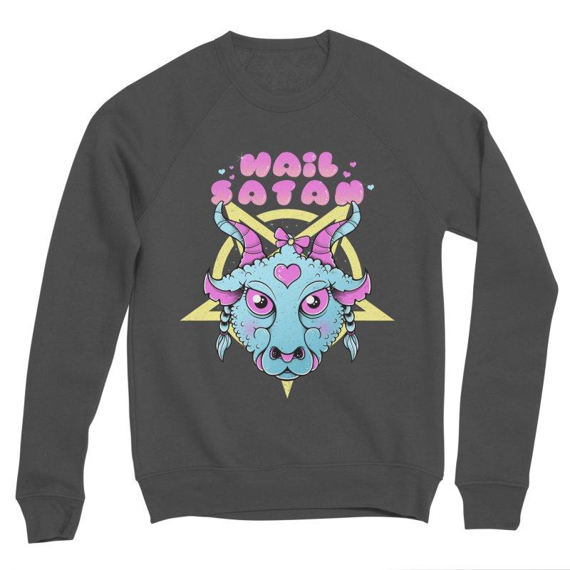 Hail Satan Women's Sponge Fleece Sweatshirt by godzillarge's Artist Shop