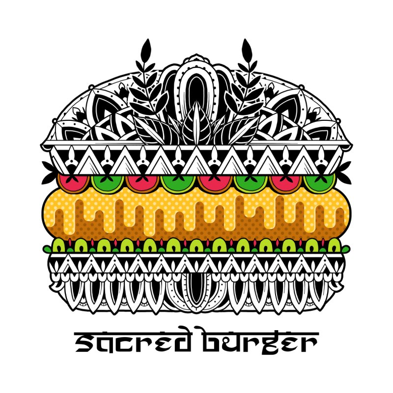 Sacred Burger by godzillarge's Artist Shop
