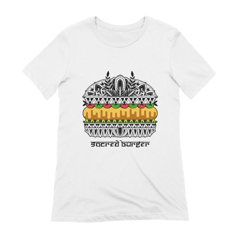 Sacred Burger Women's Extra Soft T-Shirt by godzillarge's Artist Shop