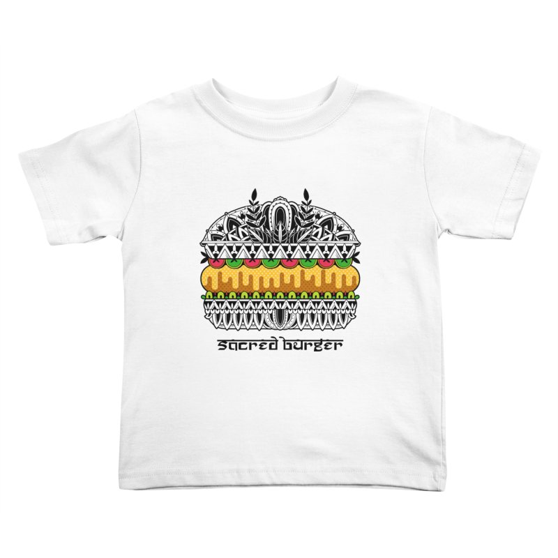 Sacred Burger Kids Toddler T-Shirt by godzillarge's Artist Shop