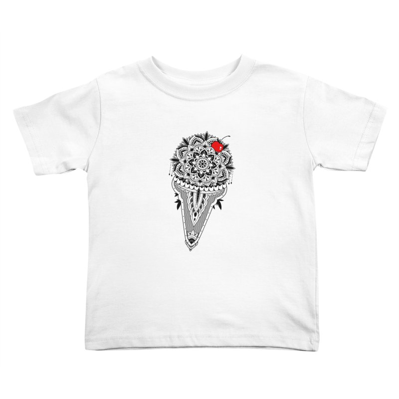 Sacred Ice Cream Kids Toddler T-Shirt by godzillarge's Artist Shop