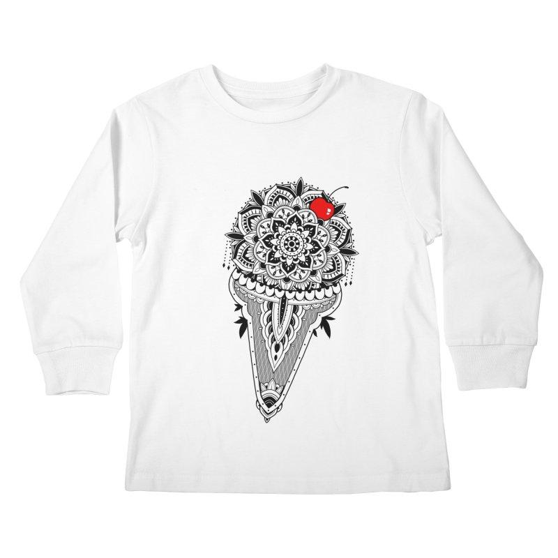 Sacred Ice Cream Kids Longsleeve T-Shirt by godzillarge's Artist Shop