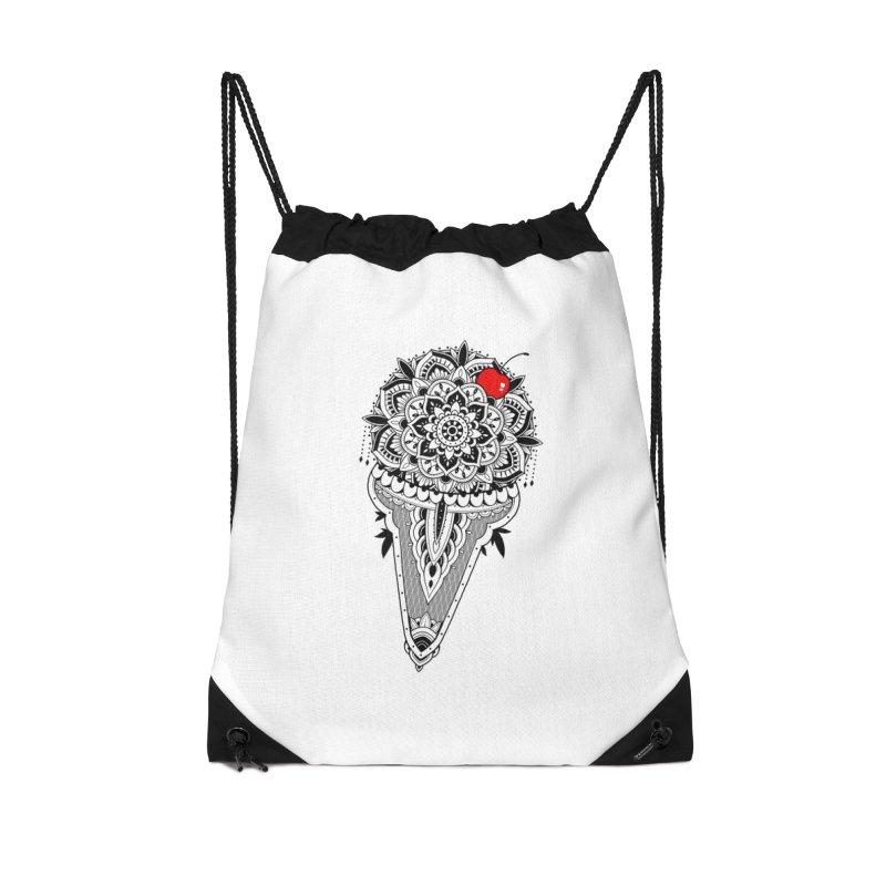 Sacred Ice Cream Accessories Drawstring Bag Bag by godzillarge's Artist Shop