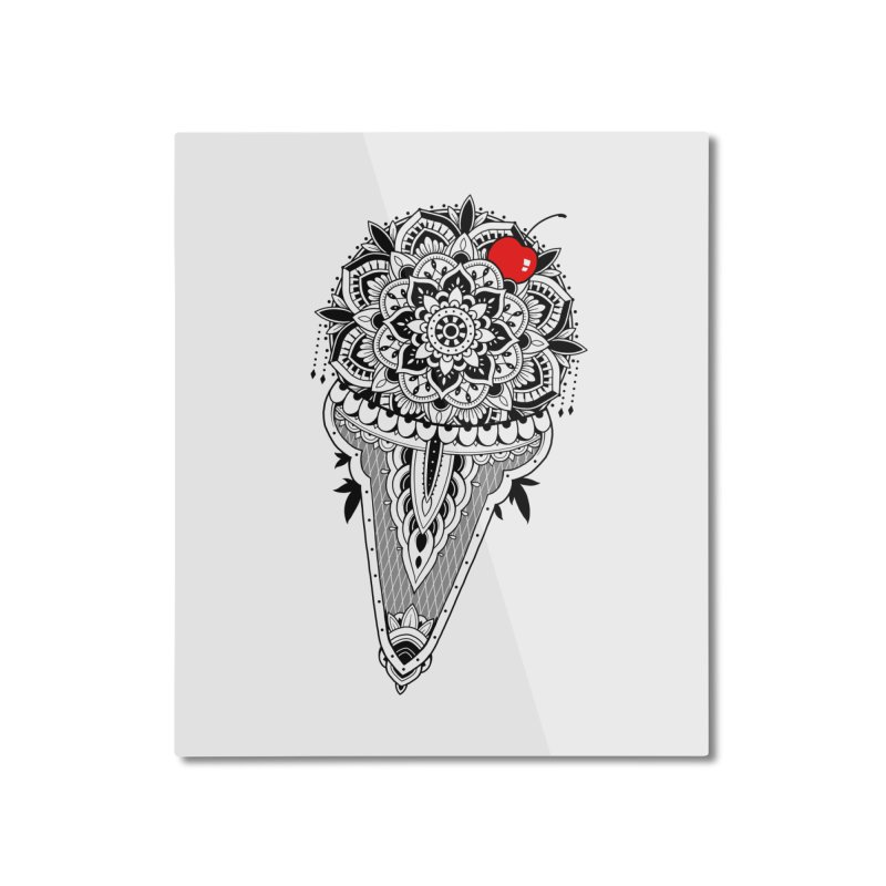 Sacred Ice Cream Home Mounted Aluminum Print by godzillarge's Artist Shop