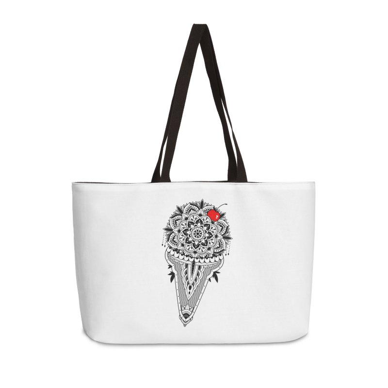 Sacred Ice Cream Accessories Weekender Bag Bag by godzillarge's Artist Shop