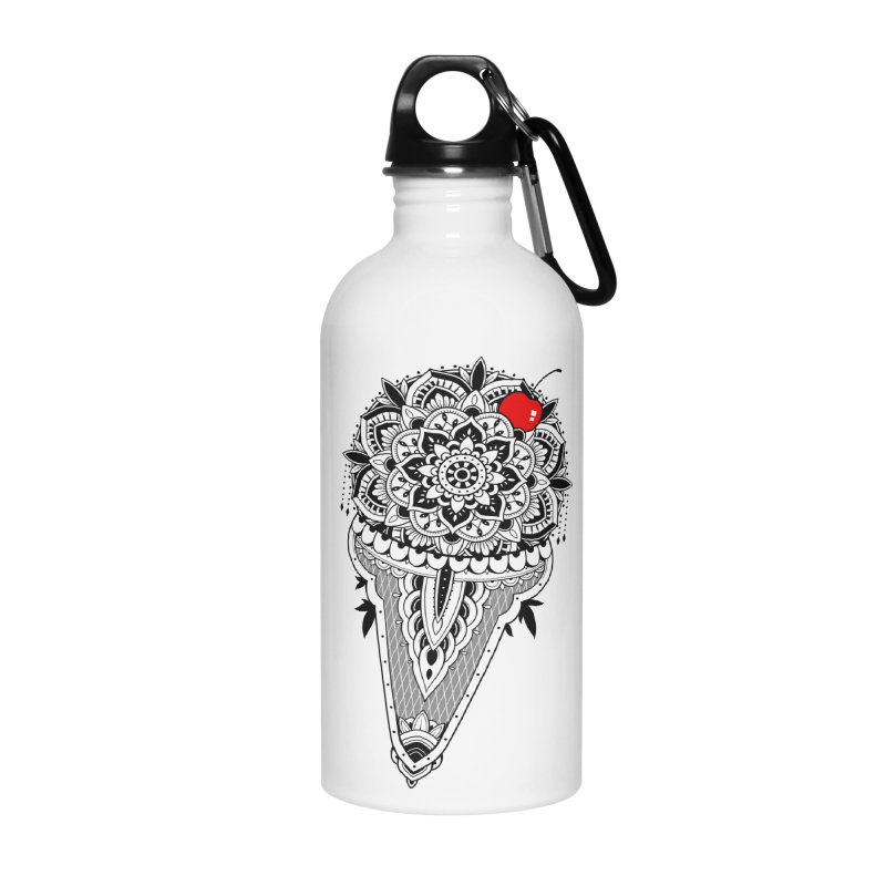 Sacred Ice Cream Accessories Water Bottle by godzillarge's Artist Shop