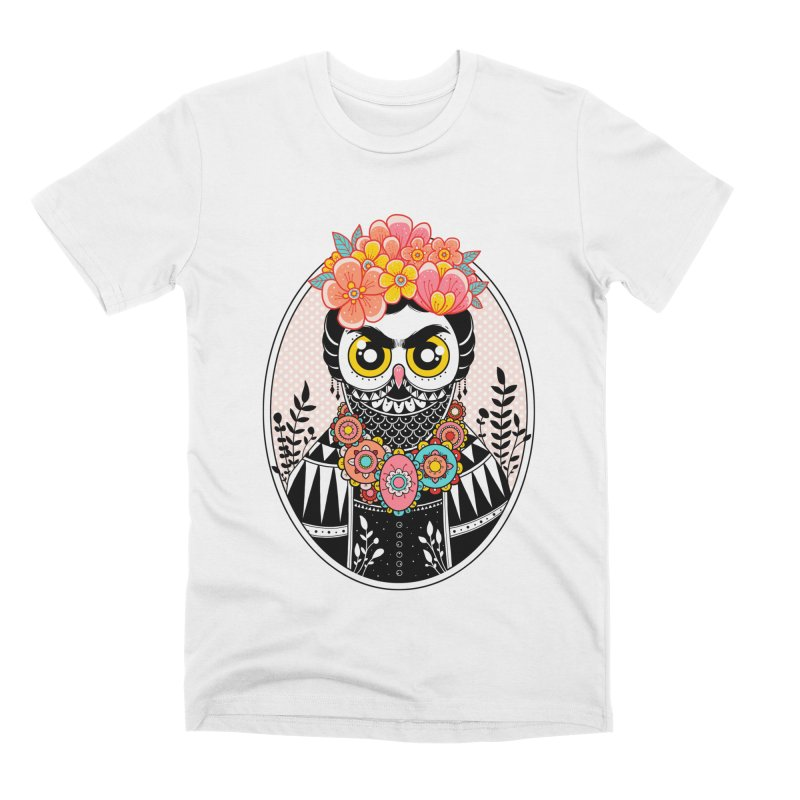 Self-Portrait Men's Premium T-Shirt by godzillarge's Artist Shop