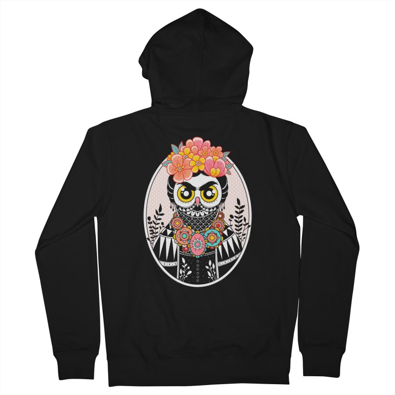Self-Portrait Women's Zip-Up Hoody by godzillarge's Artist Shop
