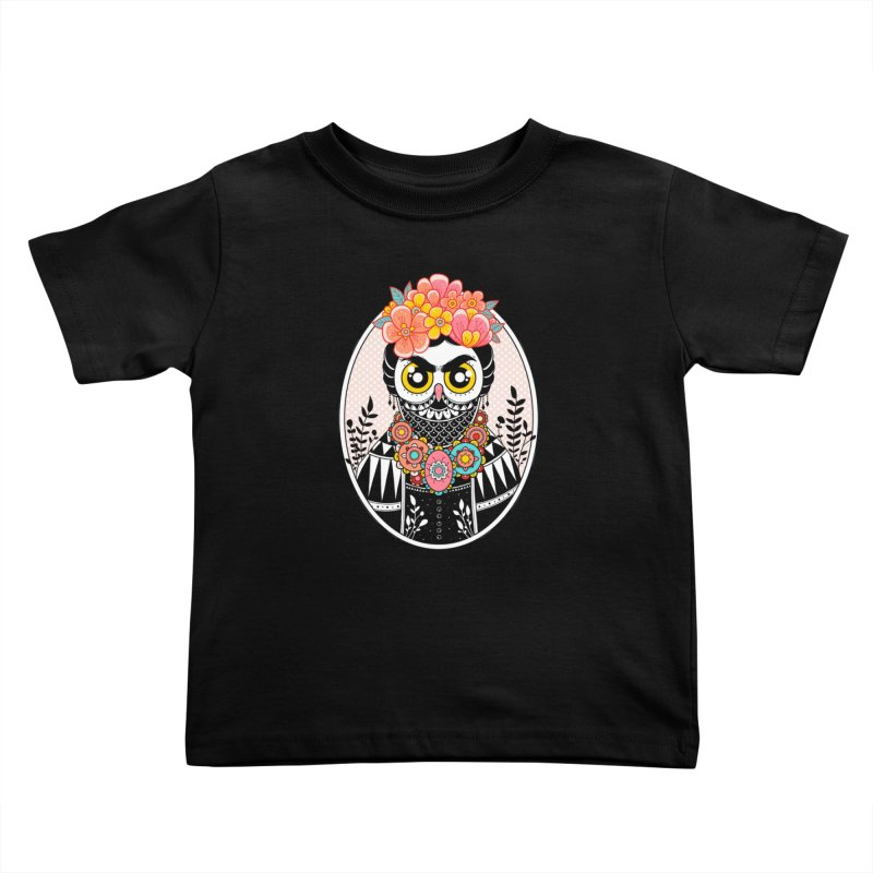 Self-Portrait Kids Toddler T-Shirt by godzillarge's Artist Shop