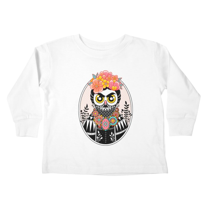 Self-Portrait Kids Toddler Longsleeve T-Shirt by godzillarge's Artist Shop