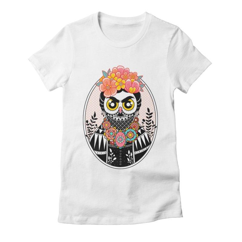 Self-Portrait Women's Fitted T-Shirt by godzillarge's Artist Shop