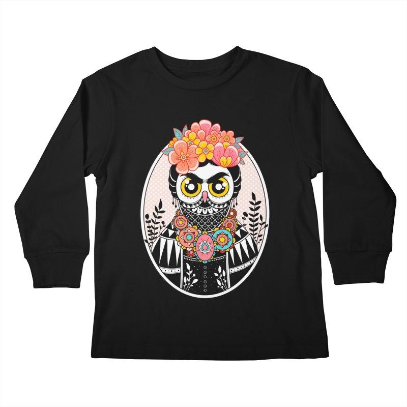 Self-Portrait Kids Longsleeve T-Shirt by godzillarge's Artist Shop