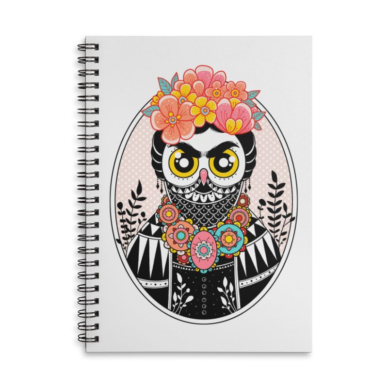 Self-Portrait Accessories Lined Spiral Notebook by godzillarge's Artist Shop