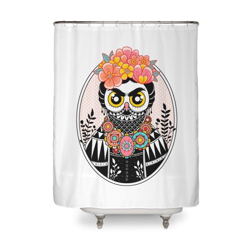 Self-Portrait Home Shower Curtain by godzillarge's Artist Shop