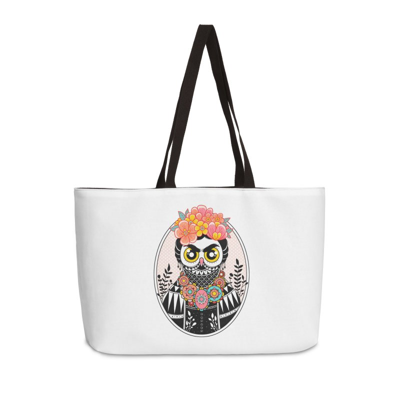 Self-Portrait Accessories Weekender Bag Bag by godzillarge's Artist Shop