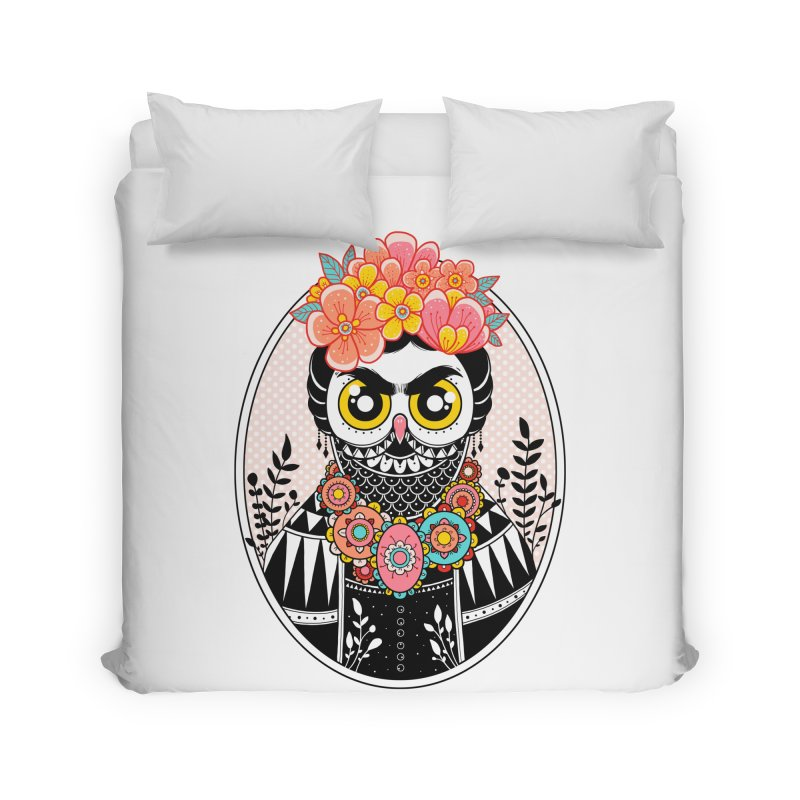Self-Portrait Home Duvet by godzillarge's Artist Shop