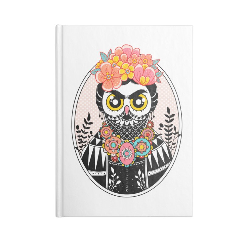 Self-Portrait Accessories Lined Journal Notebook by godzillarge's Artist Shop