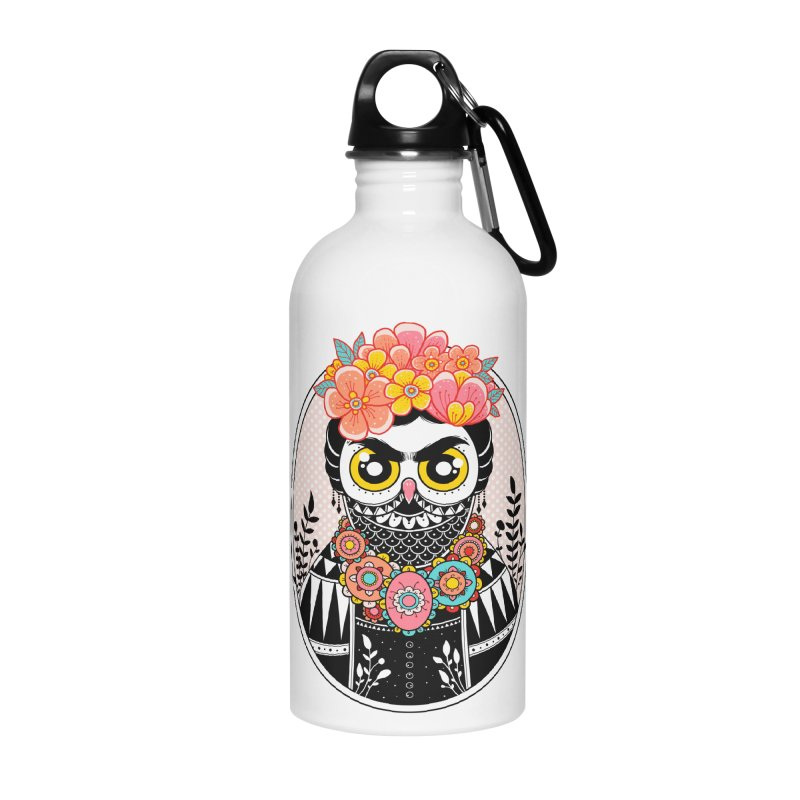 Self-Portrait Accessories Water Bottle by godzillarge's Artist Shop