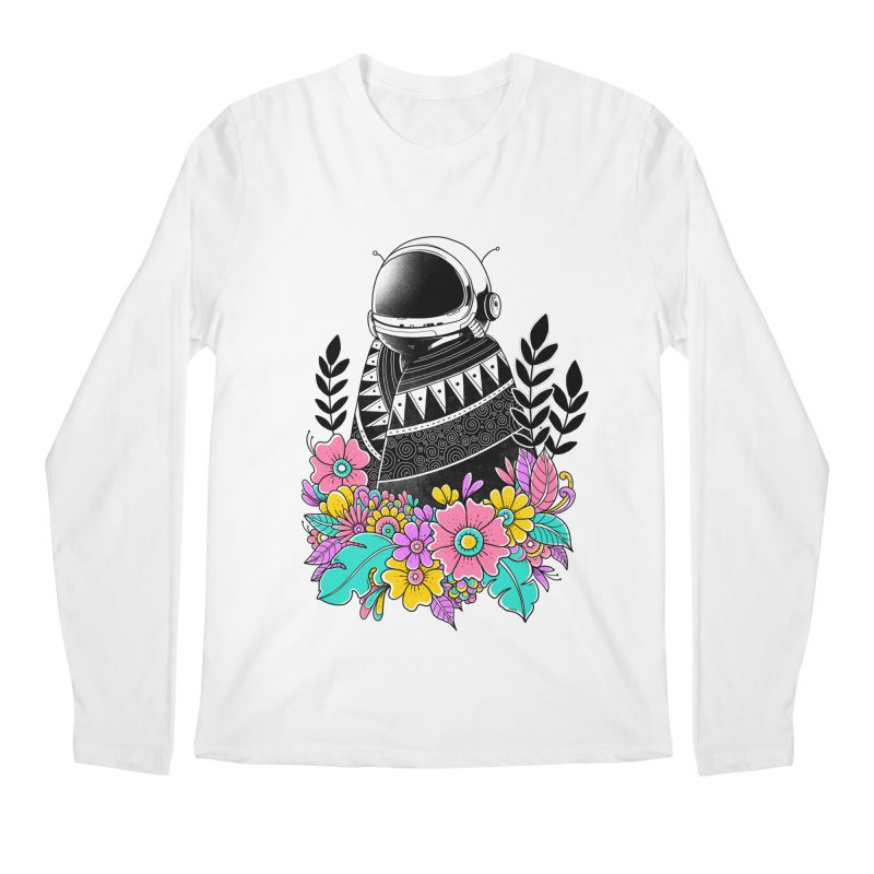 Botanical Space Men's Regular Longsleeve T-Shirt by godzillarge's Artist Shop