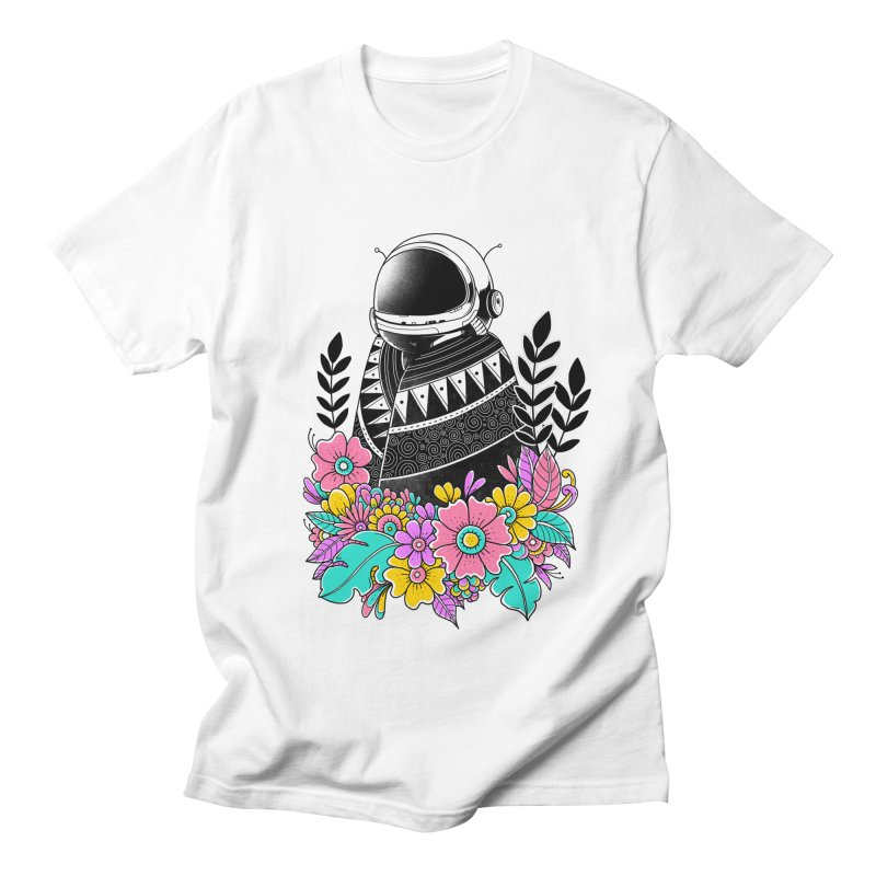 Botanical Space Women's Regular Unisex T-Shirt by godzillarge's Artist Shop