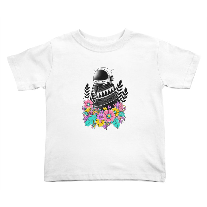 Botanical Space Kids Toddler T-Shirt by godzillarge's Artist Shop