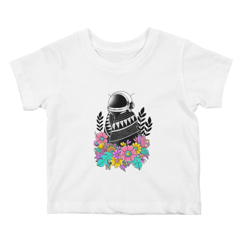 Botanical Space Kids Baby T-Shirt by godzillarge's Artist Shop