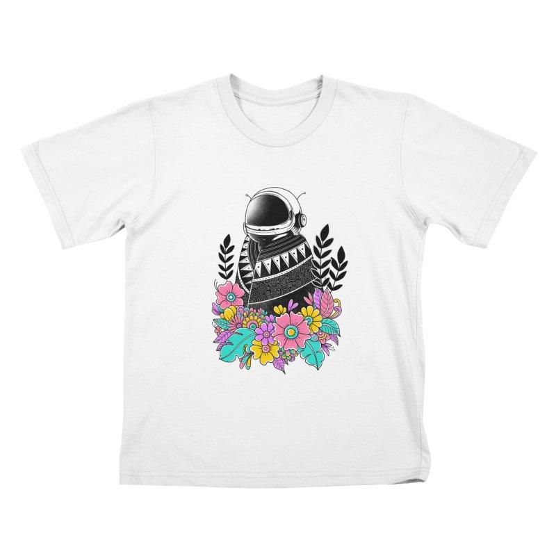 Botanical Space Kids T-Shirt by godzillarge's Artist Shop