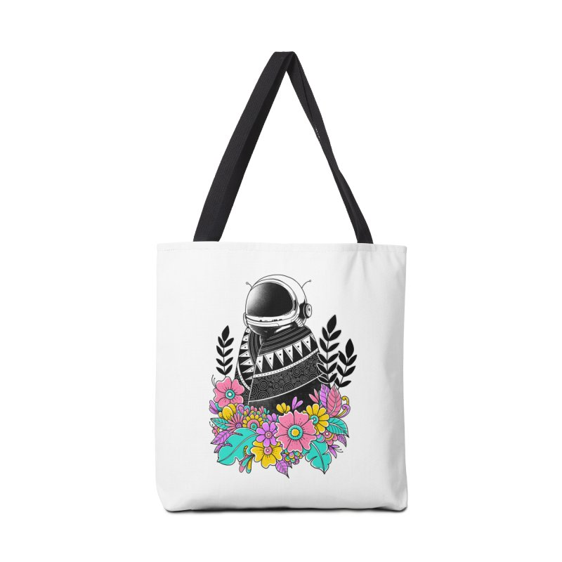 Botanical Space Accessories Tote Bag Bag by godzillarge's Artist Shop